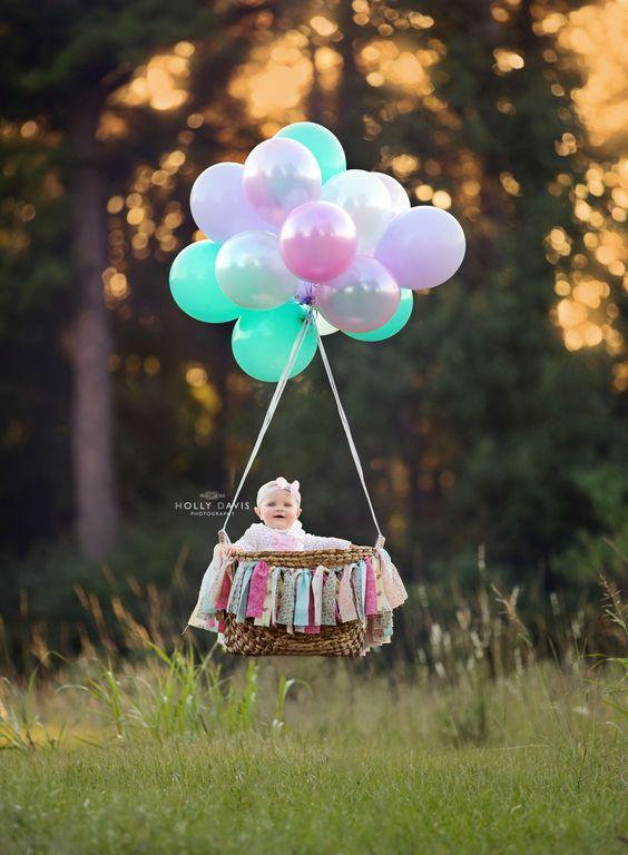 Фотозона на годик девочке и мальчику 10