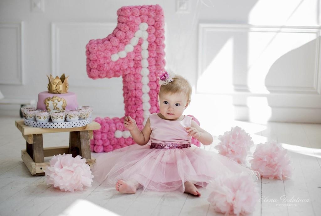 Как украсить фотозону на 1 годик (Годовасие) 12