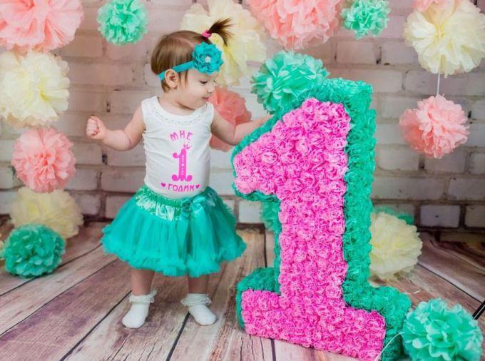 Как украсить фотозону на 1 годик (Годовасие) 8