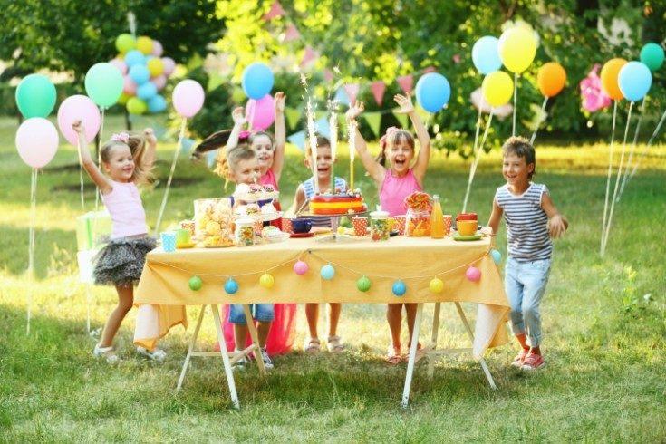 Украшение детского праздника на день рождения ребёнка 23