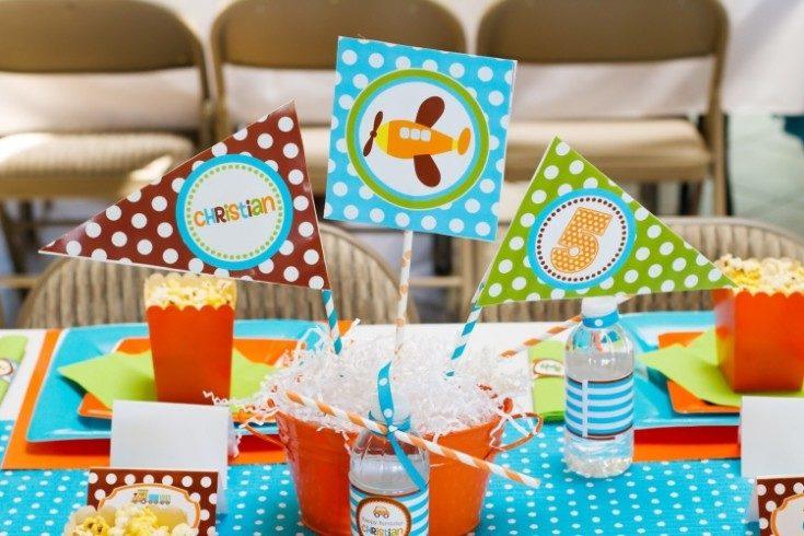 Украшение детского праздника на день рождения ребёнка 24