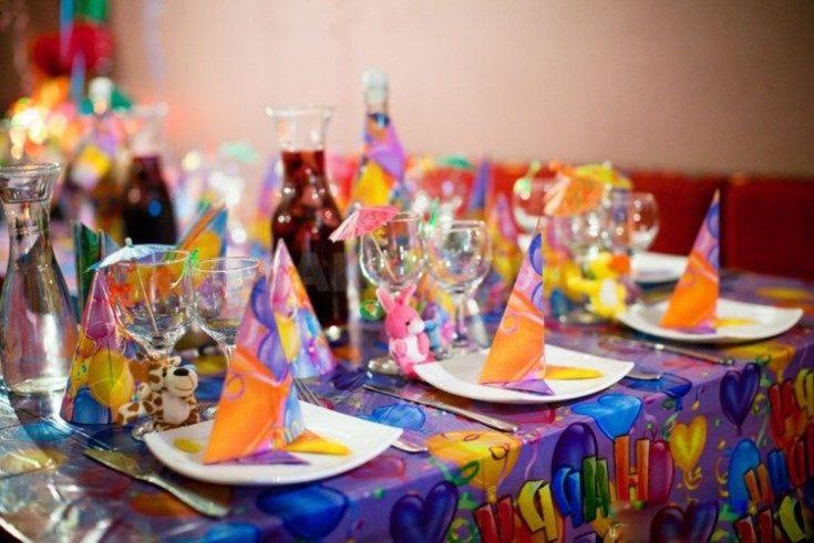Украшение детского праздника на день рождения ребёнка 1