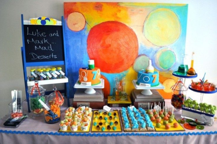 Украшение детского праздника на день рождения ребёнка 35