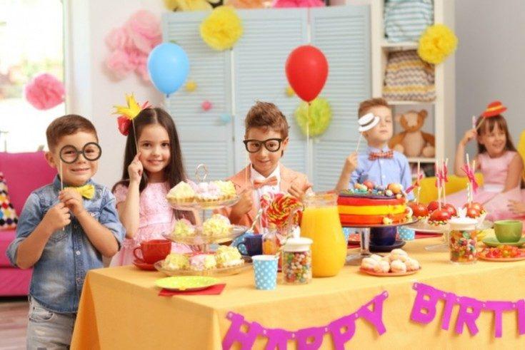 Украшение детского праздника на день рождения ребёнка 37