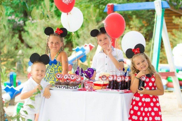 Украшение детского праздника на день рождения ребёнка 42