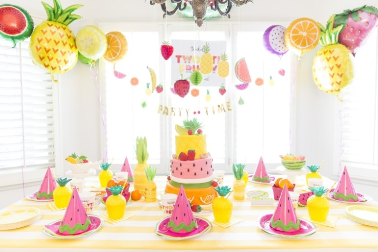 Украшение детского праздника на день рождения ребёнка 52