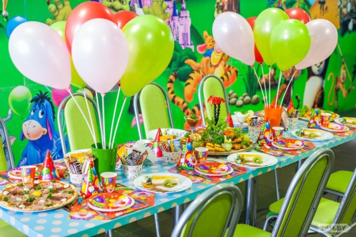 Украшение детского праздника на день рождения ребёнка 45